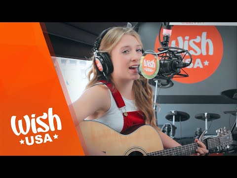 "Noelle Lidyoff performs ""What I Make of Me"" LIVE on the Wish USA Bus"