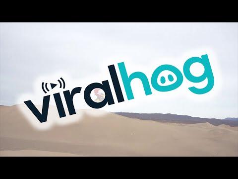 BASE-Jump mit dem Motorrad