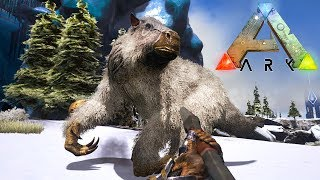 ARK: SURVIVAL EVOLVED - EXPLORING THE SNOW!!