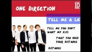 One Direction   Tell Me A Lie [HD + Lyrics + Pictures]