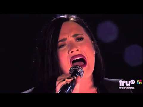 Demi Lovato - Stone Cold (with Brad Paisley) Live at iHeartRadio Music Awards 2016