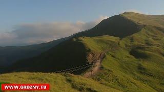 Чечню посетили любители экстремального туризма (Grozny TV ©)