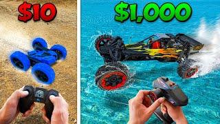 $10 vs $1000 RC Car Battle! *BUDGET CHALLENGE*