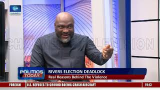 Chidi Lloyd Fumes Over Rivers Poll Suspension, Alleges Foul Play  Politics Today 