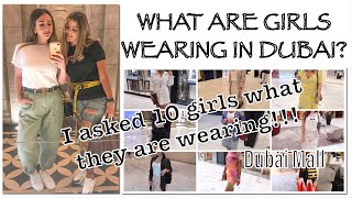 I Asked Strangers What They Are Wearing In Dubai Mall.