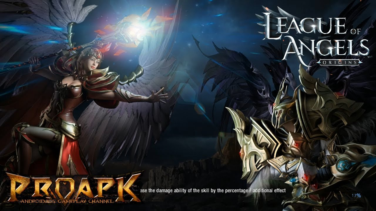 League of angels fire raiders game review mmos. Com.