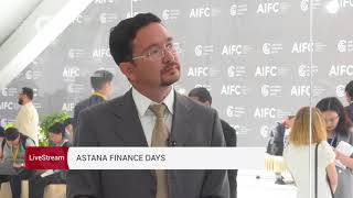 Интервью с Ульфом Вокуркой | Astana Finance Days