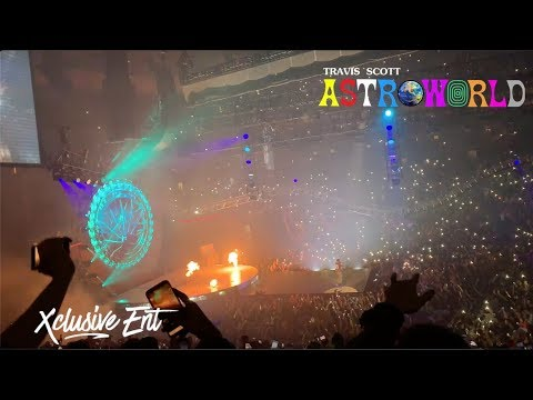 Travis Scott - Astroworld: Wish You Were Here Tour - Prudential Center - November 24th 2018 - XclusiveEnt