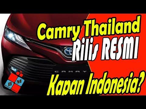 Kapan All New Camry Masuk Indonesia Grand Avanza Veloz 2018 Toyota Terbaru Sudah Rilis Thailand Di Secara Resmi Diluncurkan Untuk Pasar Sedan Andalan