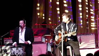 Chris Isaak 'Livin' For Your Lover' in concert at The Grove of Anaheim 7-12-2018 Anaheim, California