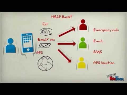 Video of Bavee InstaSecure (SOS)
