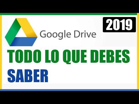 Tutorial Google Drive 2020 (Cómo funciona Google Drive)