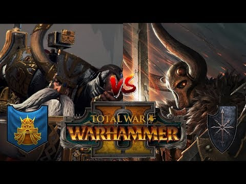 Dwarfs vs Chaos | THE EVERCHOSEN APPROACHES - Total War Warhammer 2