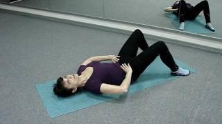 Упражнения: Лежачая гимнастика - Видео онлайн