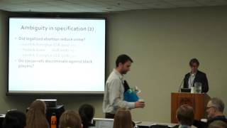 Leif Nelson - Specification Curve: Drawing inferences from non-experimental data