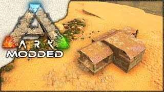 MODDED ARK: Scorched Earth ~ Ep 8 ~ ADOBE MANSION!