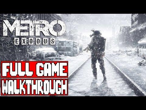 METRO EXODUS Gameplay Walkthrough Part 1 FULL GAME - No Commentary