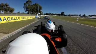 Open_Wheelers - Barbagello2017 Lisson Crashes Rolls Behind Safety Car