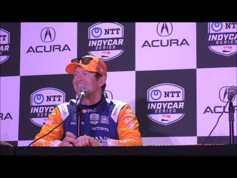 2019 IndyCar GP of Long Beach Friday Press Conference