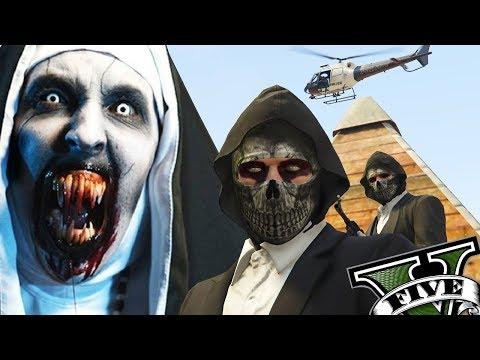 GTA V Online - Rolezinho da Freira Assustadora e Demente