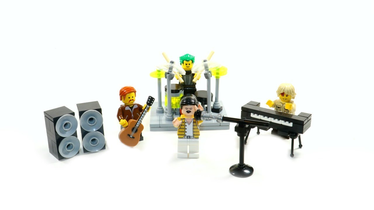 Make Your Own LEGO Rock Band!⎜Step by Step Tutorial