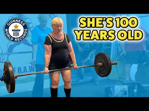 This 100-Year-Old Is the World's Oldest Female Powerlifter