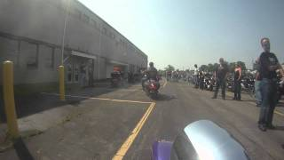 Brandy Winfield poker run entering