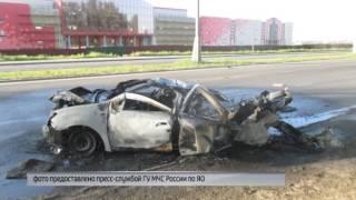 Смертельная авария в Ярославле: водитель вылетел на дорогу через лобовое стекло