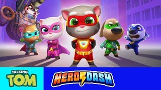 🦝⚡ Raccoon Invasion in Talking Tom Hero Dash! (ALL Trailers)