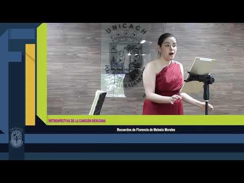 Concierto de gala: Restrospectiva de la canciòn en Mèxico. Soprano: Guadalupe Guillèn Pianista: Douglas Bringas