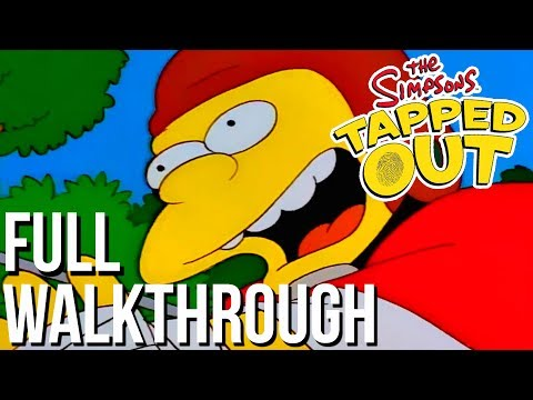 The Simpsons: Tapped Out - Football Nelson - FULL WALKTHROUGH