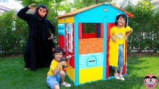 หนูยิ้มหนูแย้ม | บ้านหลังใหม่กับลิงจอมป่วน New Playhouse