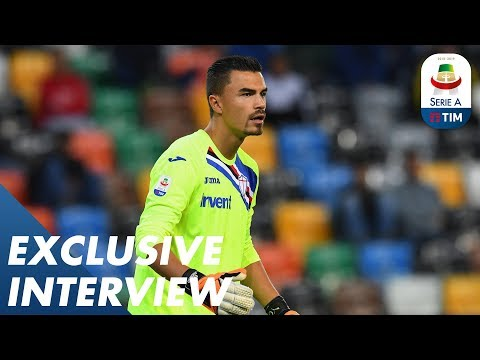 Emil Audero: From Juventus to Sampdoria | Exclusive Interview | Serie A