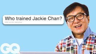 Jackie Chan Goes Undercover on Reddit, YouTube, Twitter and Instagram | Actually Me | GQ - Video Youtube