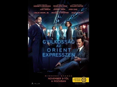 Gyilkosság az Orient expresszen online