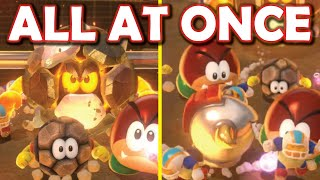 I put all the Super Mario 3D World blockade enemies into a single level