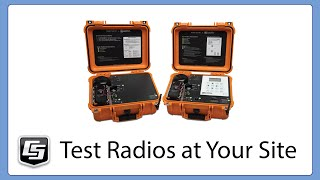 using the campbell scientific radio test kit