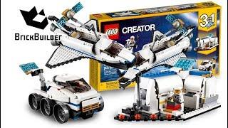 LEGO CREATOR Space Shuttle Explorer 31066 - Lego Speed Build - Brick Builder