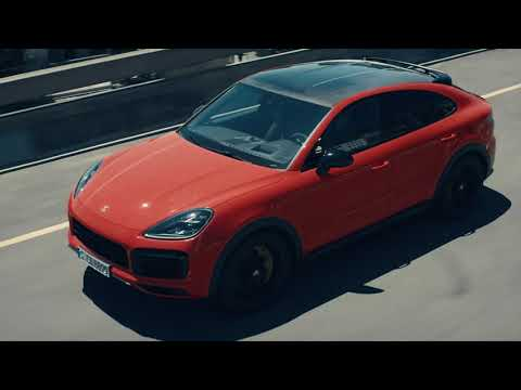 Porsche Cayenne Coupe Кроссовер класса J - рекламное видео 3