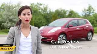Car Review - 2015 Nissan Leaf