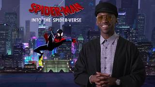 """SPIDER-MAN INTO THE SPIDER-VERSE """"Uncle Aaron"""" Interview - Mahershala Ali"""