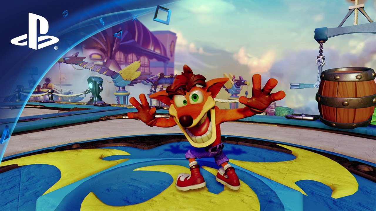 Crash erscheint bald in Skylanders Imaginators