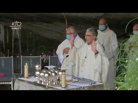 Messe de 10h à Lourdes du 7 septembre 2021