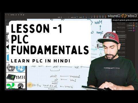 Lesson 1 - PLC Basic Fundamentals and Wiring (Hindi)