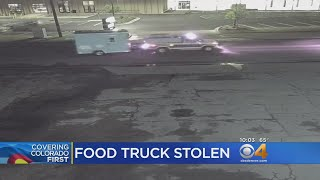 Woman's Food Truck Stolen After She Received Threatening Messages