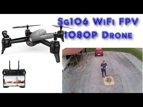 SG106 WiFi FPV With 1080P Wide Angle Camera