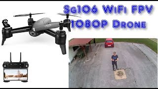 SG106 WiFi FPV With 1080P Wide Angle Camera Optical Flow Positioning RC Drone