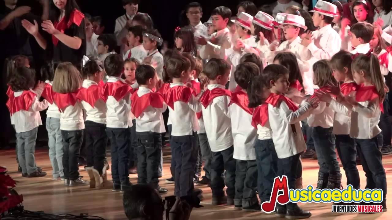 Marcha Radestky en percusión corporal - Todos los participantes del Festival Musicaeduca