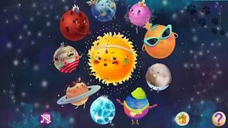 Знакомство с планетами - детям о космосе