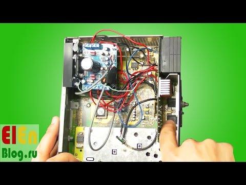 BM54 меняем усилитель в штатной магнитоле на TDA7850.
